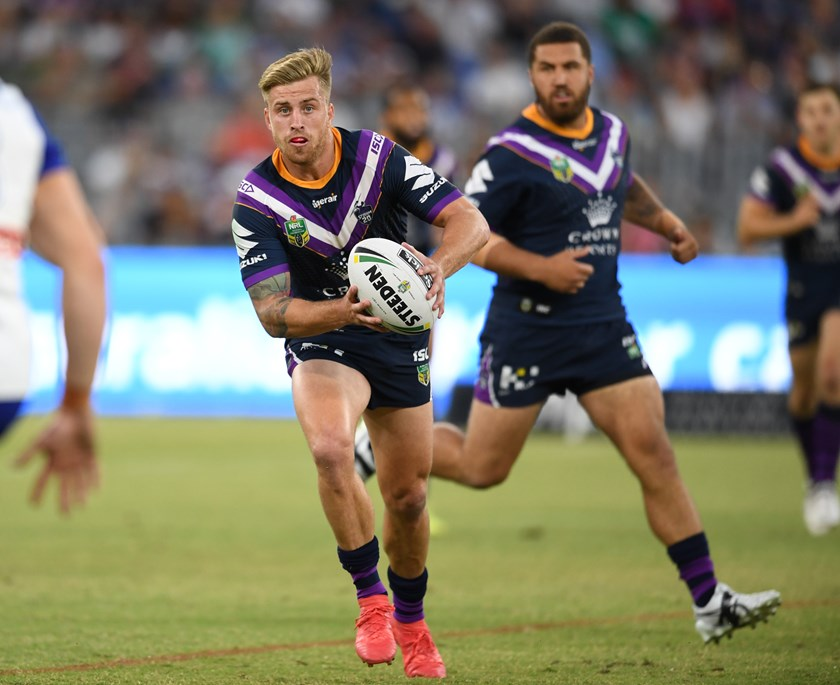 Storm utility Cameron Munster.