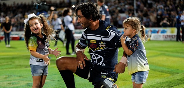 Cowboys mark JT's 300th with win over Sharks