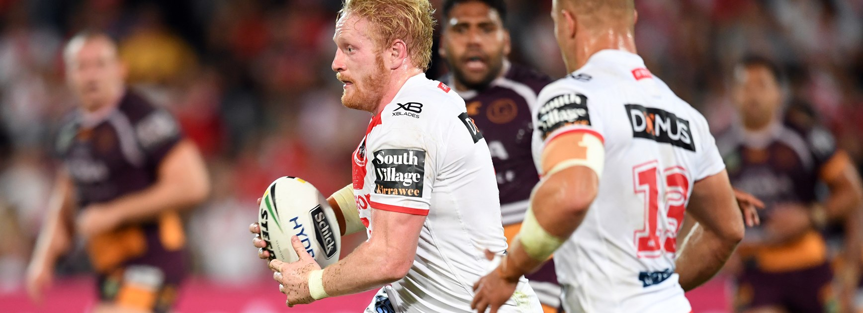 Dragons forward James Graham.