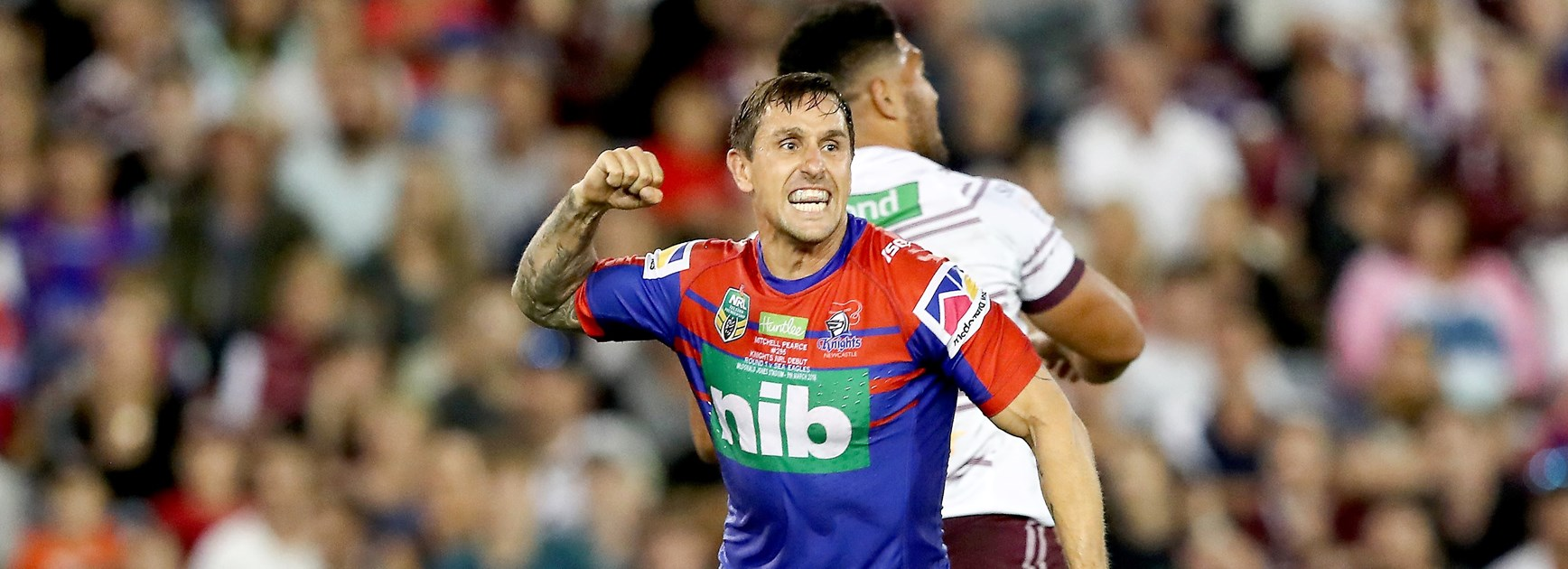 Pearce says Knights not yet near Storm or Roosters