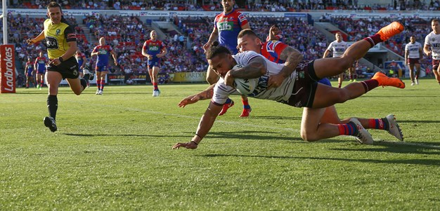 Taufua's powerful comeback from ACL injury