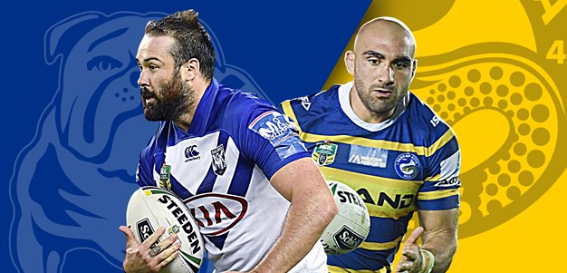 Bulldogs v Eels: Mannah and Pritchard injured, Dogs name debutant