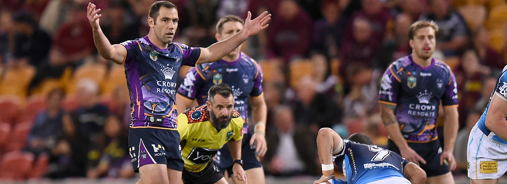 Storm say risk of losing Smith for two games was too great
