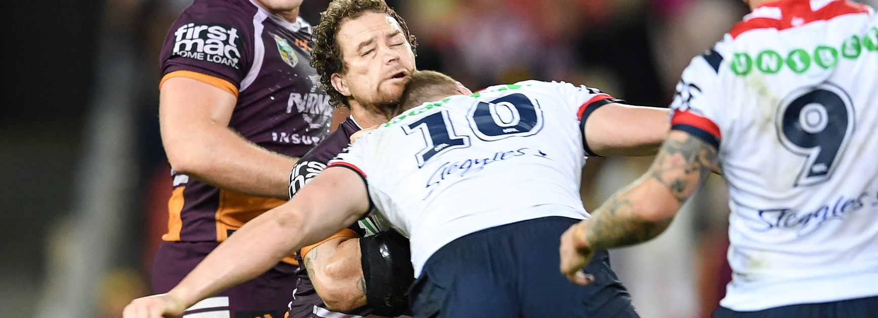 Dylan Napa's tackle on Korbin Sims.
