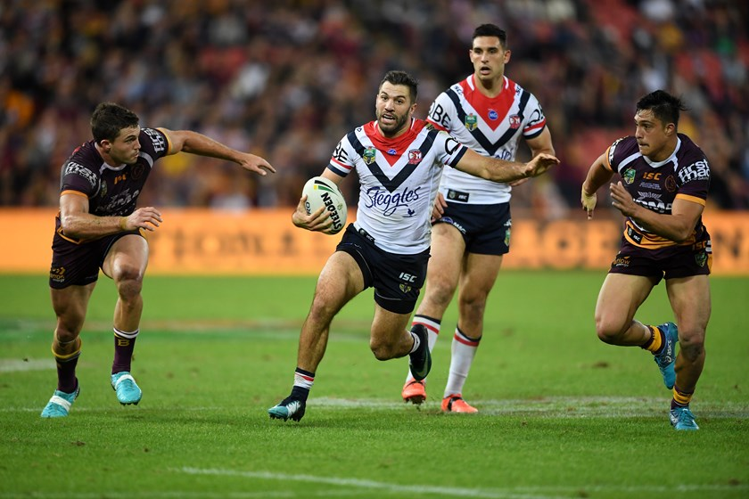 Roosters fullback James Tedesco
