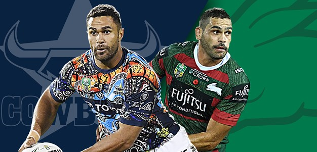 Cowboys v Rabbitohs: Green sticks solid; Souths unchanged