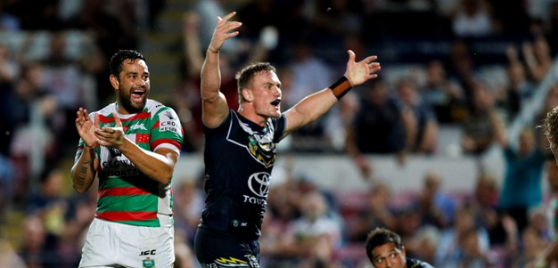 Rabbitohs break Cowboys' hearts with last-minute win