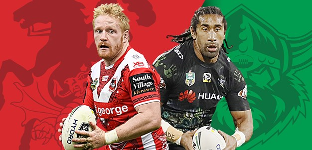 Dragons v Raiders: Stars cleared to play for both teams
