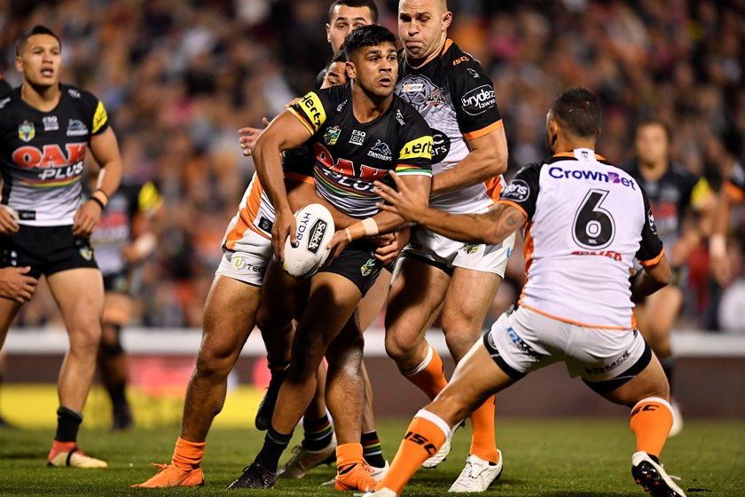 Panthers utility Tyrone Peachey.