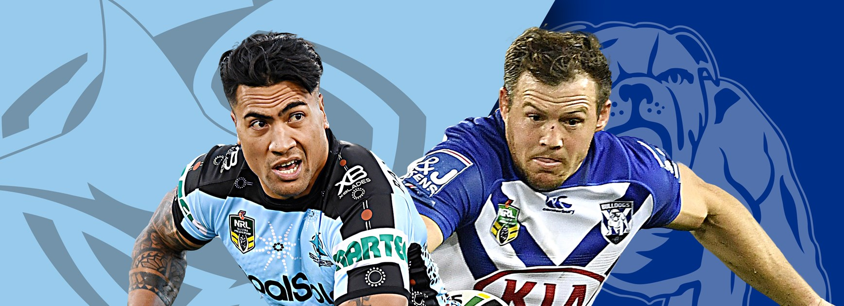 Sharks v Bulldogs: Gallen, Dugan in; Canterbury's late switch