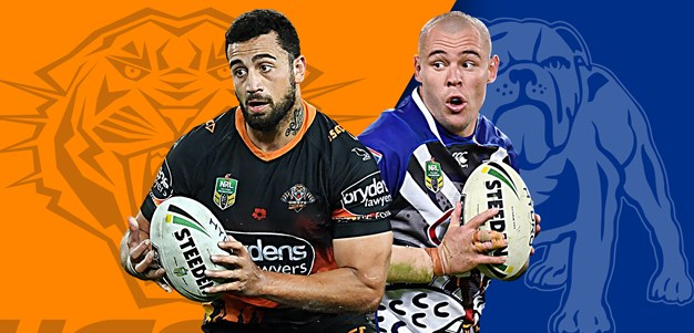 Wests Tigers v Bulldogs: Cleary makes change; Klemmer starts