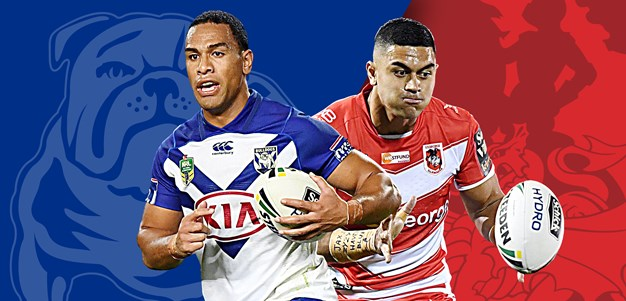 Bulldogs v Dragons: Dogs lose Foran, Red V Origin stars to play