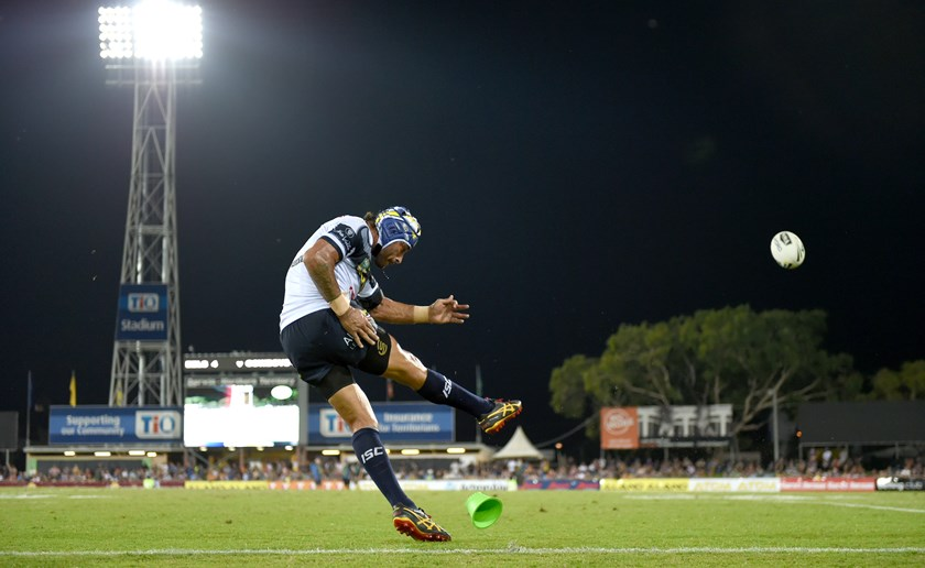 Johnathan Thurston is one of the game's finest goalkickers.
