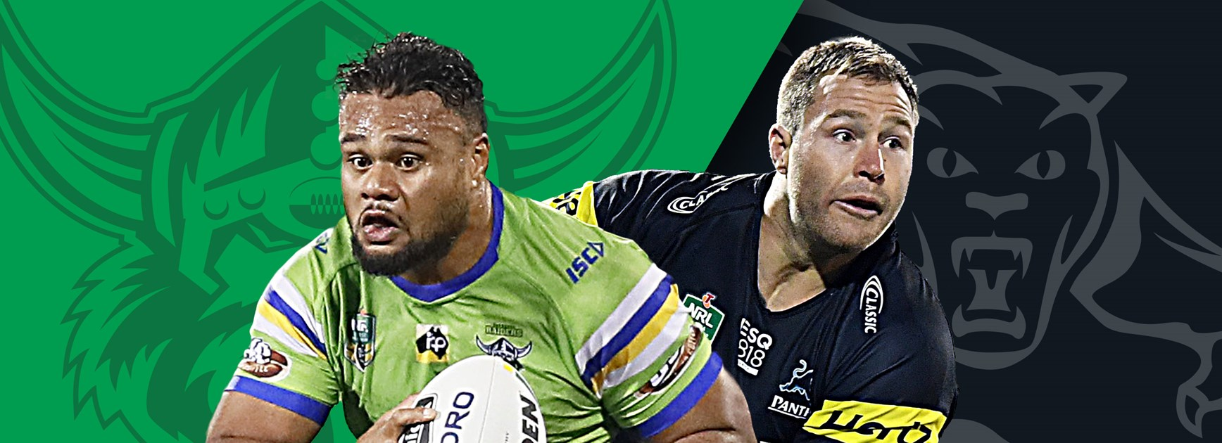 Raiders v Panthers: Origin stars but no Wallace to face unchanged Raiders