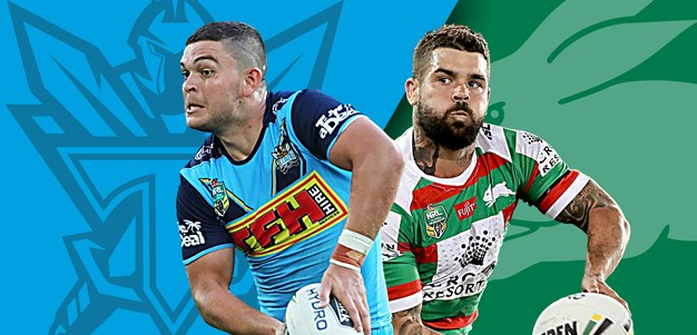 Titans v Rabbitohs: Cook, Crichton, Inglis and Gagai all out