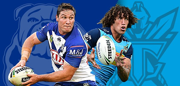 Bulldogs v Titans: Morris out, Klemmer to bench; Titans 1-17