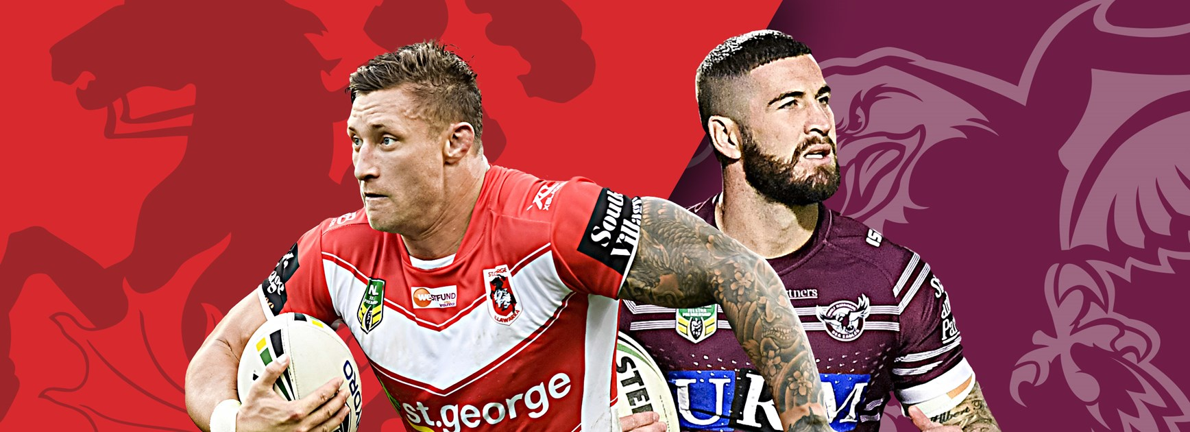 Dragons v Sea Eagles: Changes for Manly, Nightingale still benched
