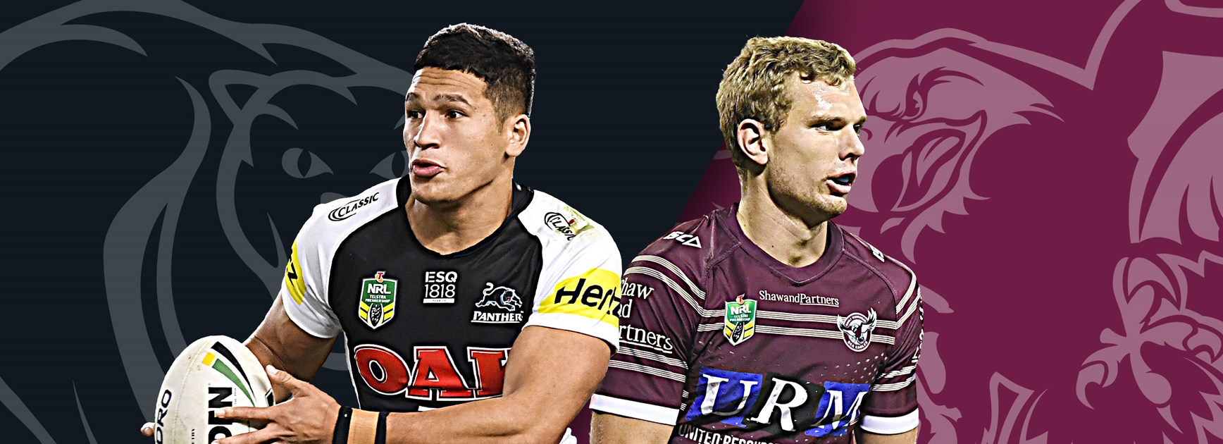 Panthers v Sea Eagles: Taufua out, Lane to start; Panthers' rep stars to back up