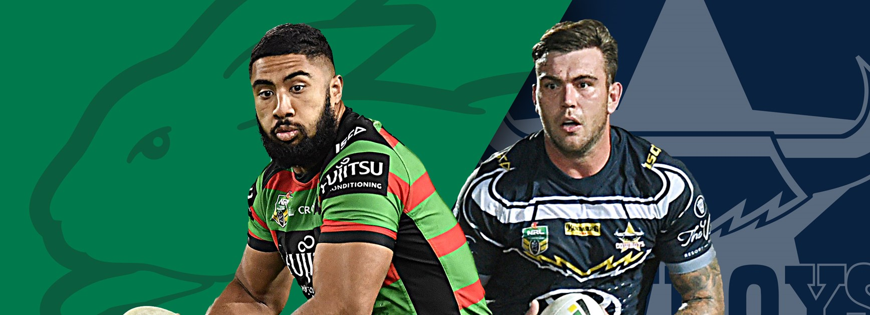 Rabbitohs v Cowboys: Scott out, stars back for Rabbitohs