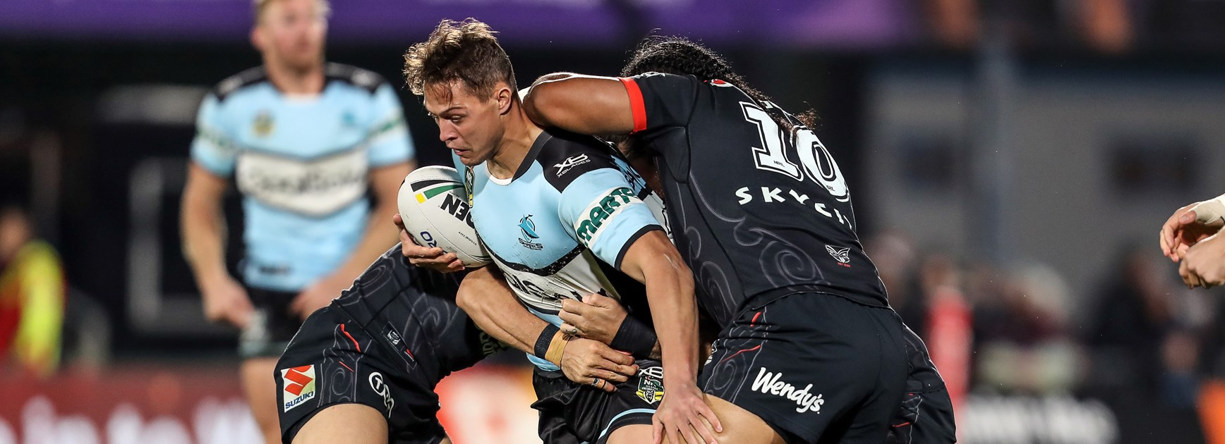 Sharks back-rower Scott Sorensen.