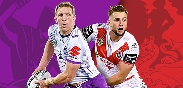 Storm v Dragons: Late changes for Storm; Dragons 1-17