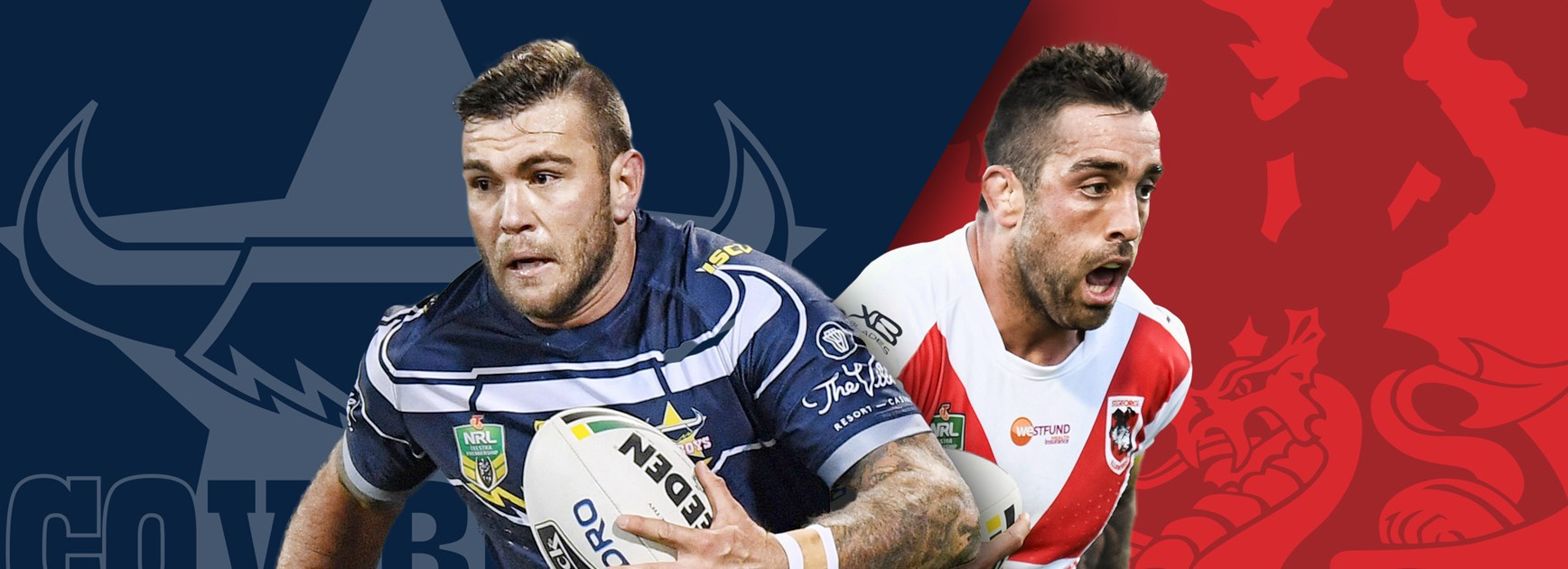 Cowboys v Dragons: Jake Clifford to debut; Frizell, Nene out