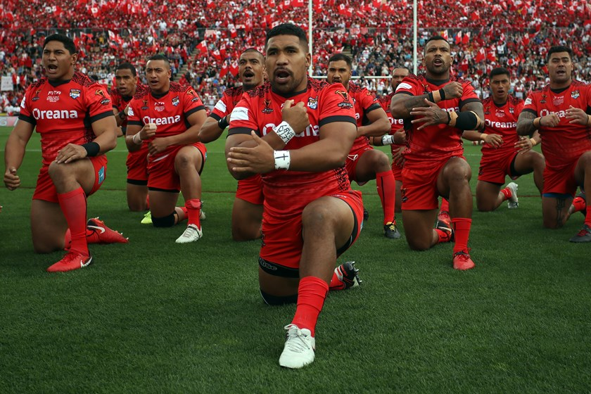 Tonga lit up the World Cup last year by making it to the semi-finals.