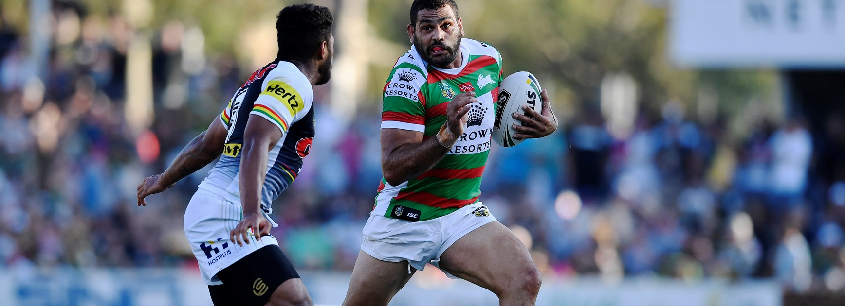 South Sydney Rabbitohs centre Greg Inglis.