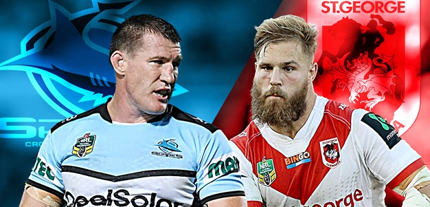 Sharks v Dragons: Grudge match kicks off Round 2