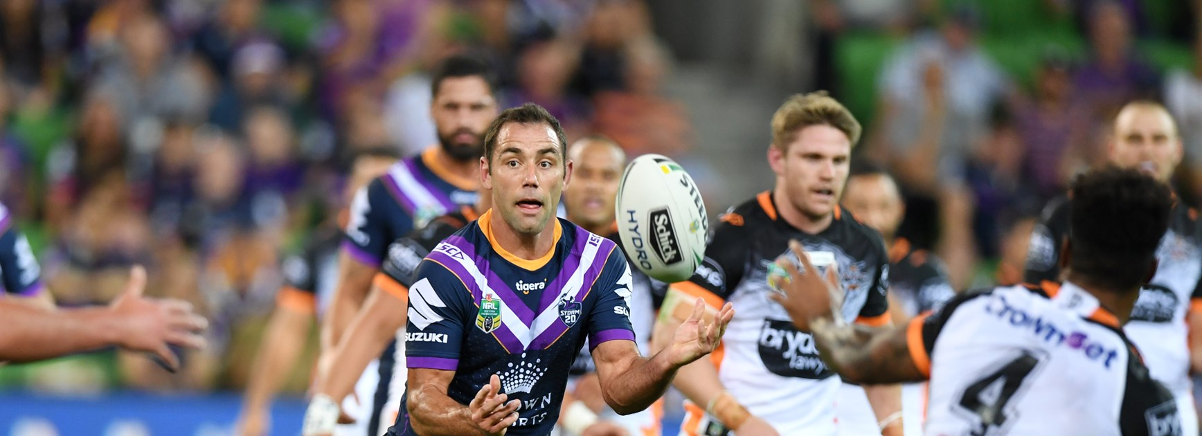 Storm captain Cameron Smith.