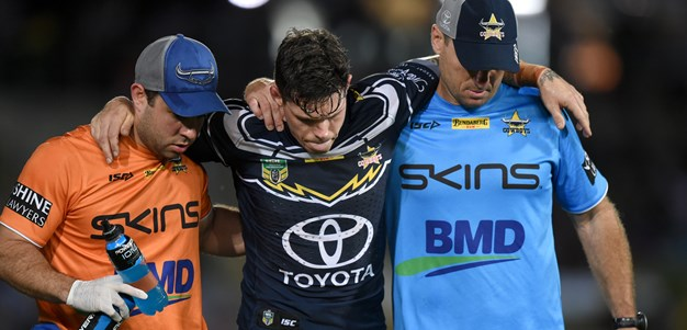 Hampton recovering from Ponga collision