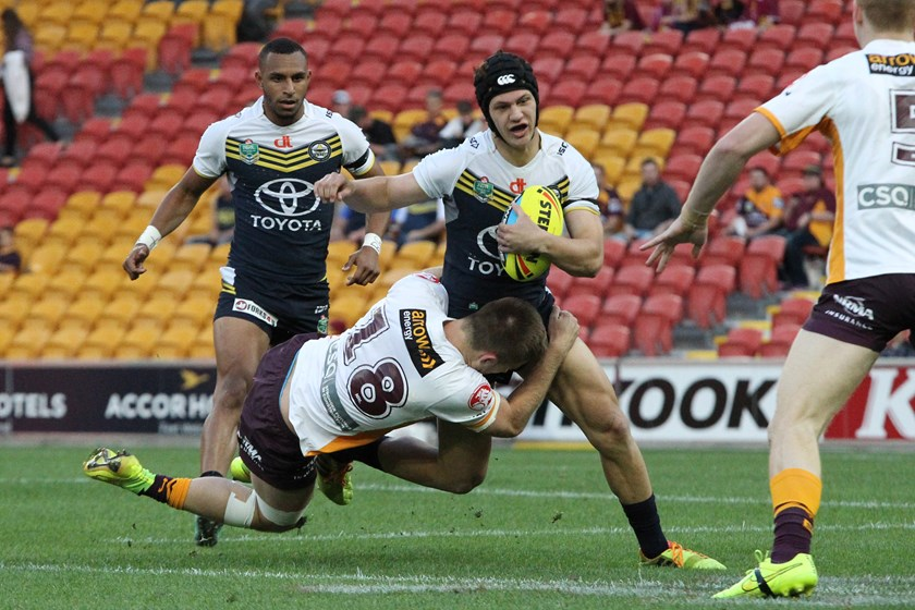 Kalyn Ponga represents North Queensland in the under 20 quarter-final against Brisbane in 2015.