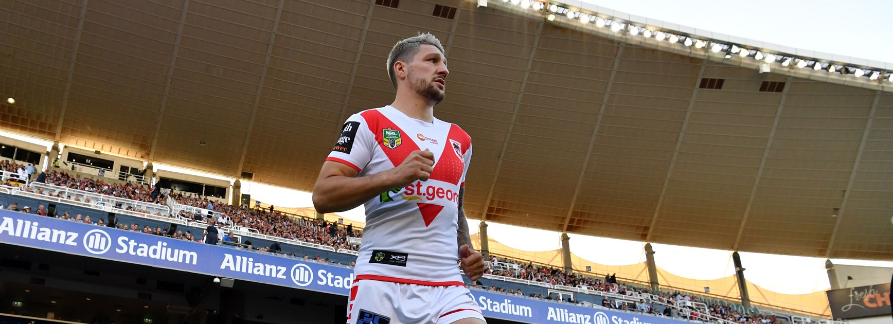 Dragons five-eighth Gareth Widdop.