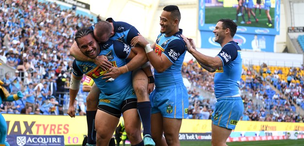 Titans notch their biggest ever win over Warriors