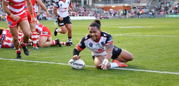 Warriors stay in top four race with hoodoo-busting win over Dragons