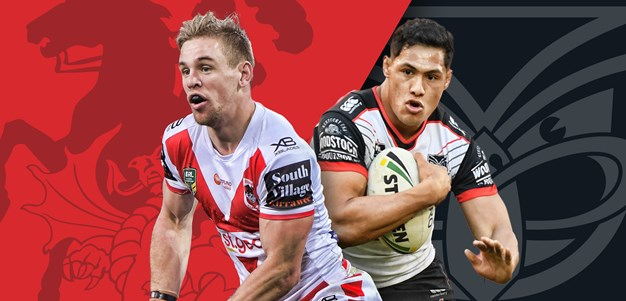 Dragons v Warriors: Round 21 preview