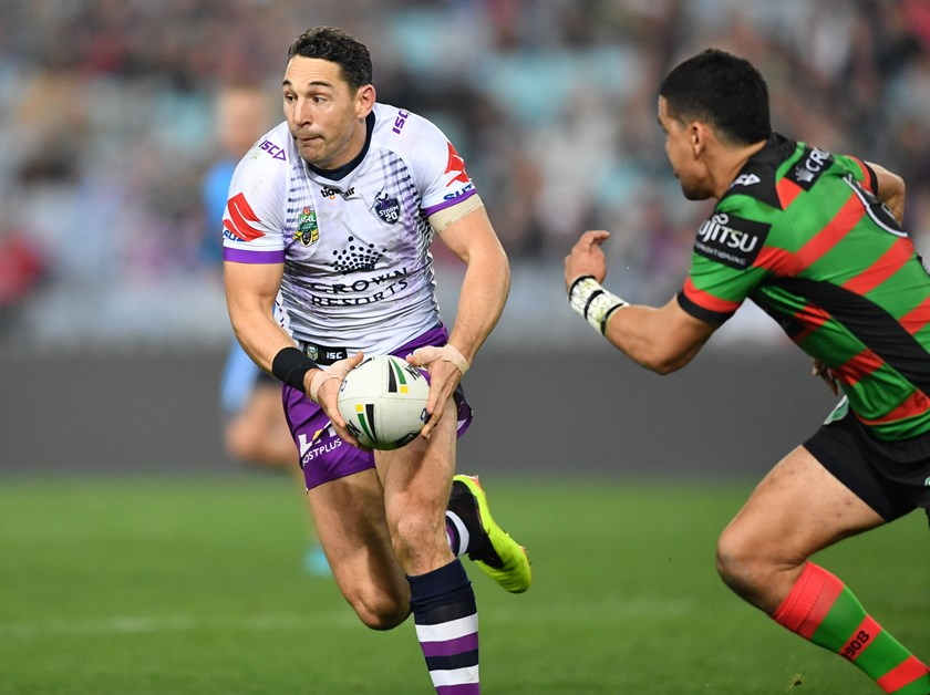 Storm great Billy Slater.