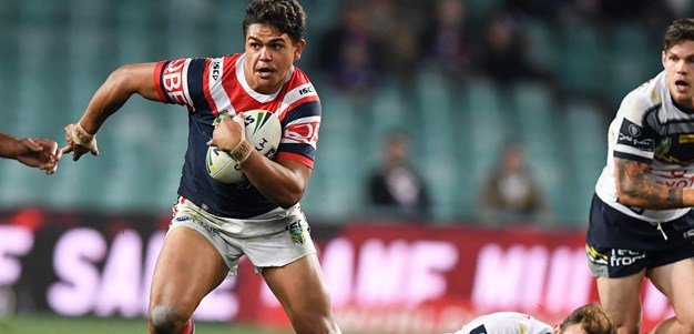 Roosters hold out late Cowboys surge as lethal Latrell fires again