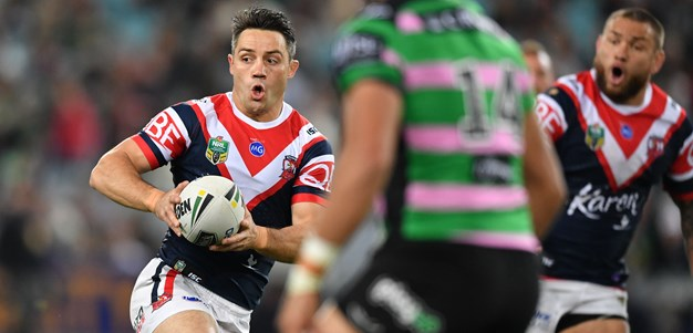 Cronk cranks it up as Roosters leapfrog Rabbitohs into top spot