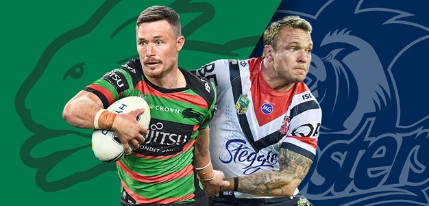 Rabbitohs v Roosters: Burns to start for Graham, Roosters unchanged