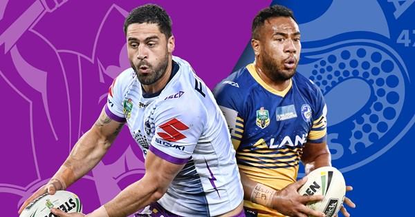 Melbourne Storm V Parramatta Eels Round 23 Preview Nrl
