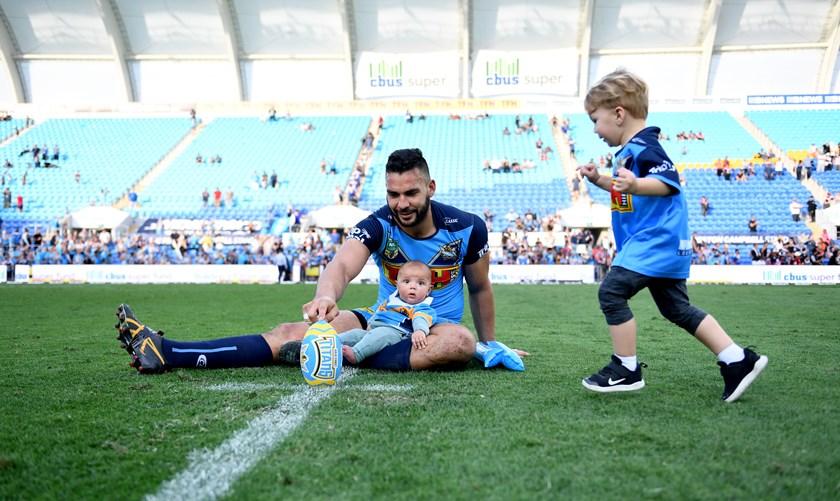 Gold Coast prop Ryan James.