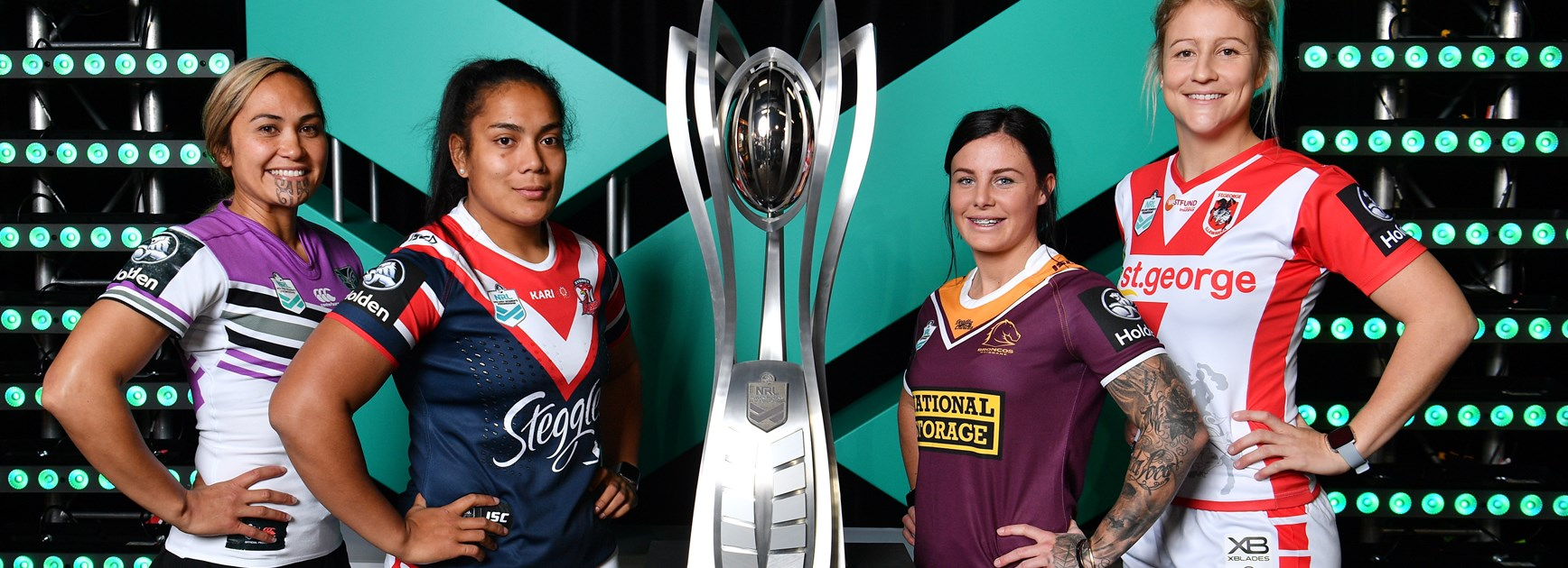 The launch of the Women's NRL Premiership.