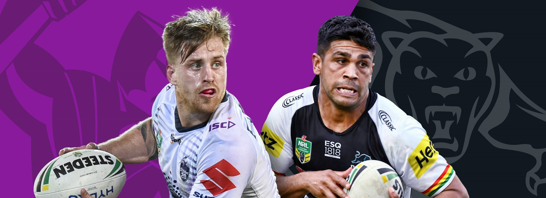 Storm v Panthers: Slater, Harawira-Naera out