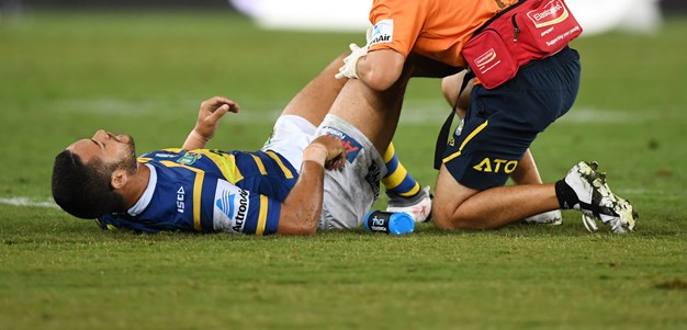 Hayne injured against Sharks