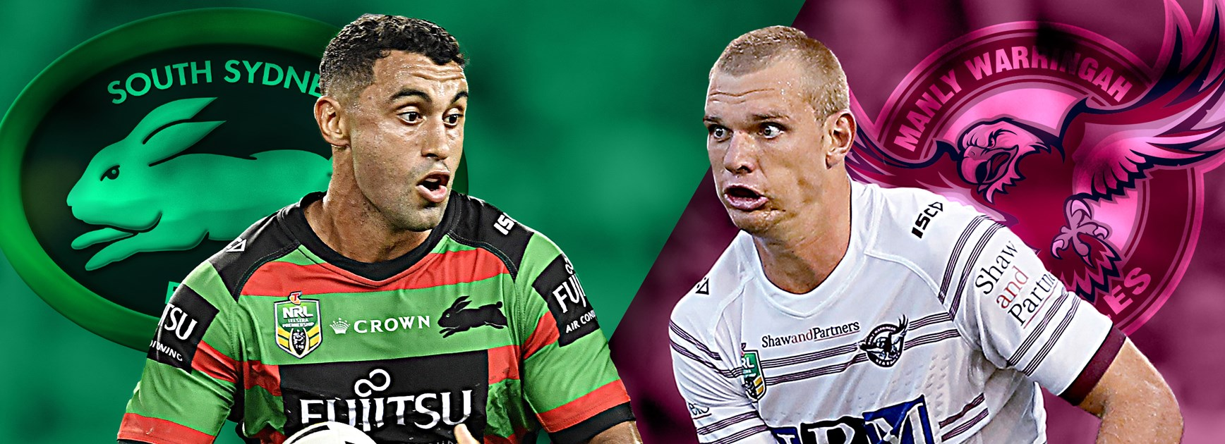 Rabbitohs v Sea Eagles: Hunt recalled, Manly unchanged