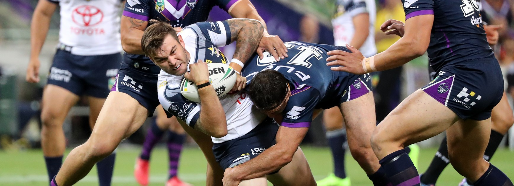 North Queensland Cowboys winger Kyle Feldt.