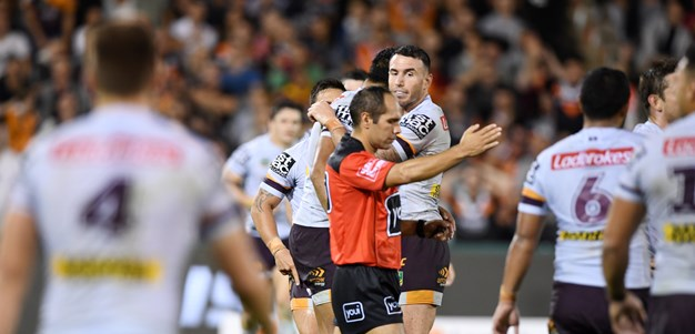 Refs involved in Wests Tigers-Broncos match demoted