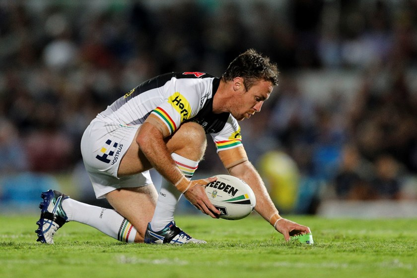 Penrith Panthers star James Maloney.