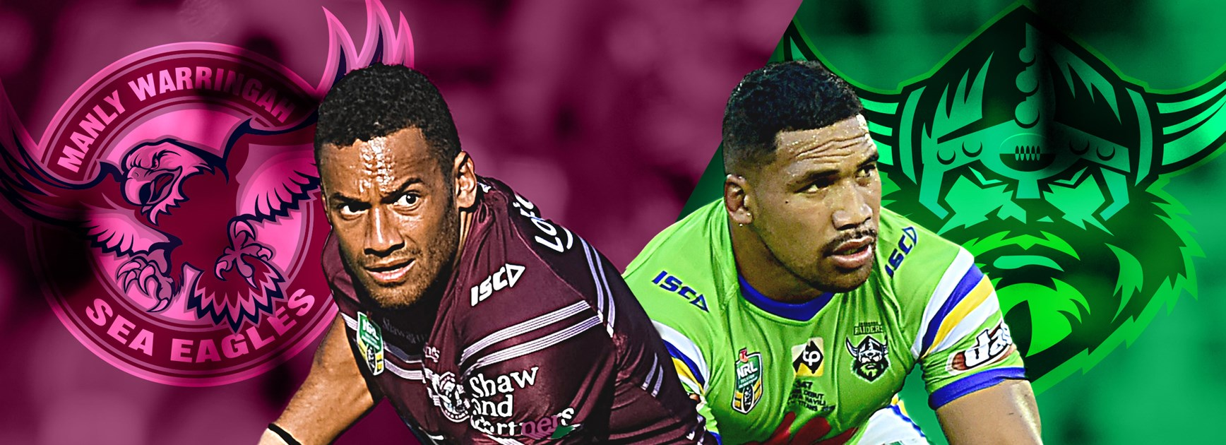 Sea Eagles v Raiders: Wright on wing, Austin dropped